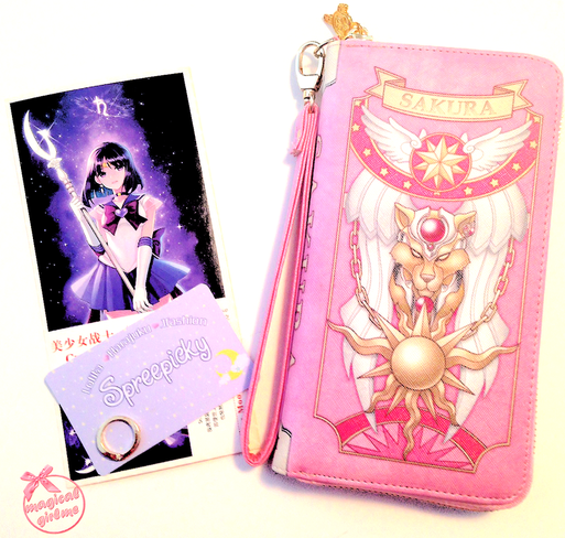 Spreepicky, Sakura, Cardcaptor Sakura, Sailor Moon, Sailor Moon Crystal, Sailor Saturn