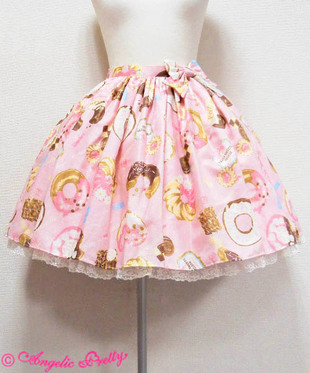 Angelic Pretty, Baked Sweets Parade, Lolita, AP, 2016, skirt, doughnut