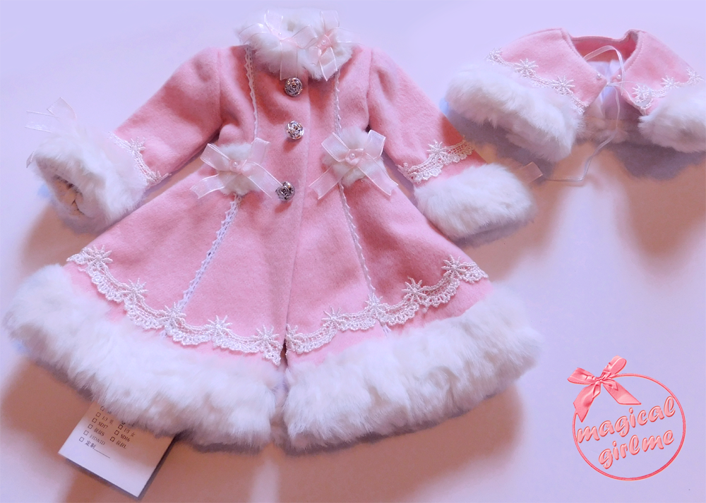 Lolita, Sweet Lolita, Winter Coat, MSD, BJD, Lolita BJD, Obitsu, Hitomi, magicalgirlme, kawaii, Japanese Fashion, TaobaoRing, Taobao, cute, doll, Lolita doll