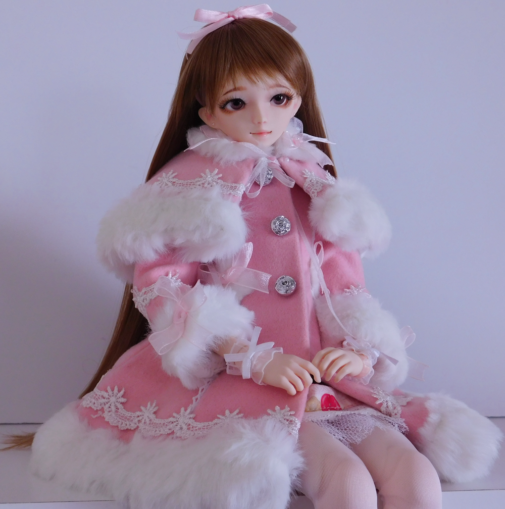 Lolita, Sweet Lolita, Winter Coat, MSD, BJD, Lolita BJD, Obitsu, Hitomi, magicalgirlme, kawaii, Japanese Fashion, TaobaoRing, Taobao, cute, doll, Lolita doll, Hitomi, LeekeWorld Wig, Mako Eyes, The Kawaii Phoenix